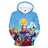 Fall Guys Hoodie Unisex Fall Guys: Ultimate Knockout Pullover Sweatshirt Fancy 3D Printed Hombres Mujeres Mangas largas Casual Game Skin Streetwear...