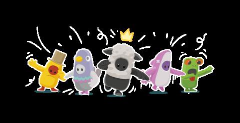 FallGuys personajes / characters