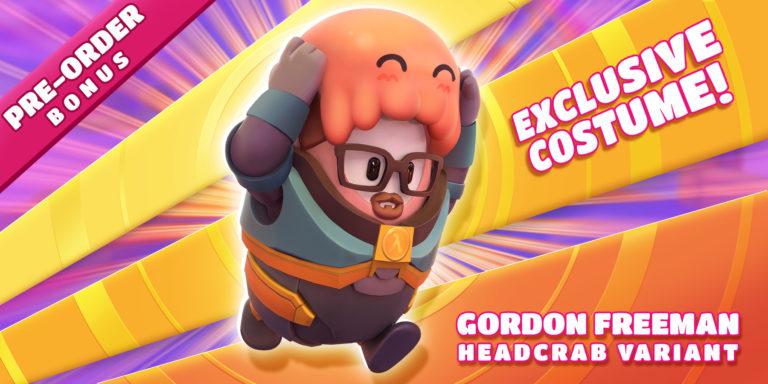 Fall Guys Gordon Freeman - Half Life