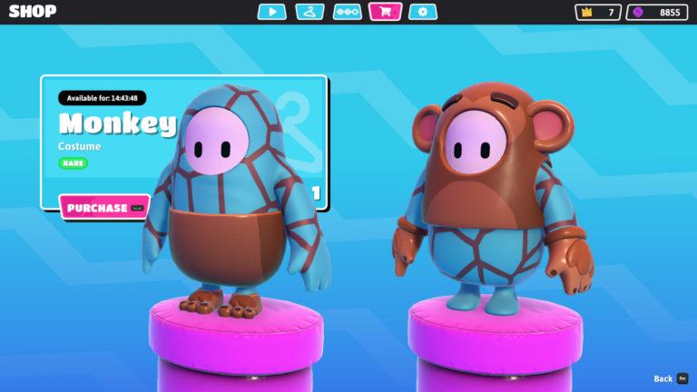 Fall Guys monkey / mono