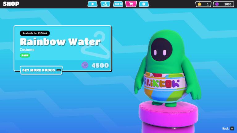 Fall Guys rainbow water / agua arcoíris